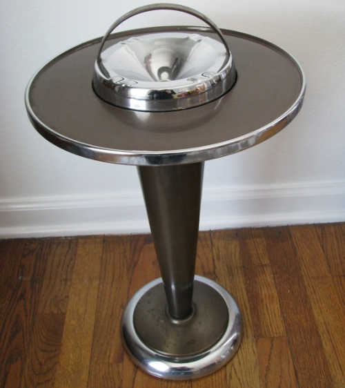 Old fashioned ashtray stand 24